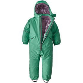 Patagonia Snow Pile One-Piece Infant, plains green